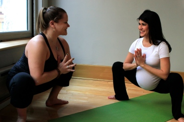 Prenatal Yoga in Hong Kong with Lisa Kazmer