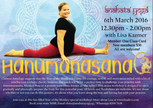 Hanumanasana at Anahata featured and content