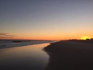 Sunset Saltaire Beach, Fire Island Summer 2016