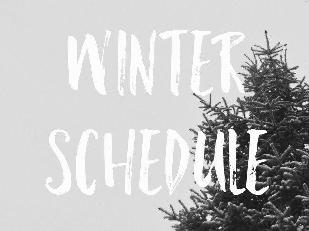 Winter Schedule 16/17 Featured Image Header