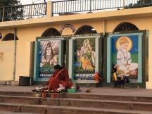 Trivini Ghat Rishikesh Art