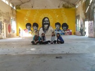 Beatles Ashram Rishikesh Art
