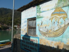 Rishikesh Street Art India ganga ganges